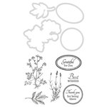 Kaisercraft - Decorative Dies and Clear Acrylic Stamps - Grateful