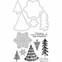 Kaisercraft - Decorative Dies and Clear Acrylic Stamps - Nordic Christmas