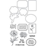 Kaisercraft - Decorative Dies and Clear Acrylic Stamps - You and Me