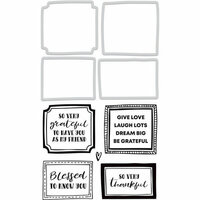 Kaisercraft - Decorative Dies and Clear Acrylic Stamps - Framed