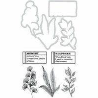 Kaisercraft - Decorative Dies and Clear Acrylic Stamps - Leafy