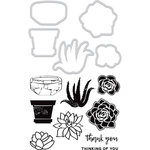 Kaisercraft - Decorative Dies and Clear Acrylic Stamps - Succulents