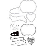 Kaisercraft - Decorative Dies and Clear Acrylic Stamps - Congrats