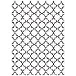 Kaisercraft - 5 x 7 Embossing Folder - Lattice