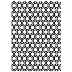 Kaisercraft - 5 x 7 Embossing Folder - Honey Comb
