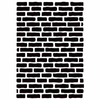 Kaisercraft - 4 x 6 Embossing Folder - Bricks