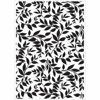 Kaisercraft - 4 x 6 Embossing Folder - Leaves