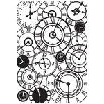 Kaisercraft - 4 x 6 Embossing Folder - Clocks