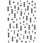 Kaisercraft - 4 x 6 Embossing Folder - Triangles