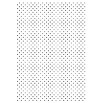 Kaisercraft - 4 x 6 Embossing Folder - Tiny Dot