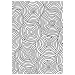 Kaisercraft - 4 x 6 Embossing Folder - Circles