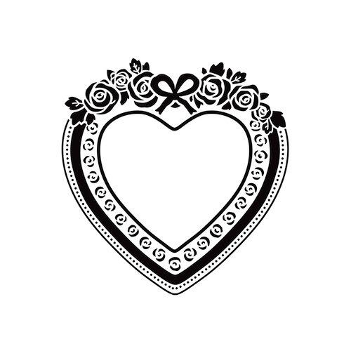 Kaisercraft Heart Frame 4 x 6 Embossing Folder