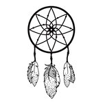 Kaisercraft - 4 x 6 Embossing Folder - Dreamcatcher
