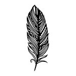 Kaisercraft - 4 x 6 Embossing Folder - Feather