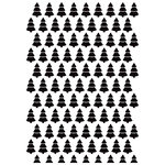 Kaisercraft - 4 x 6 Embossing Folder - Christmas Trees