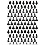 Kaisercraft - 4 x 6 Embossing Folder - Christmas Trees