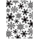 Kaisercraft - 4 x 6 Embossing Folder - Snowflakes