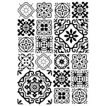Kaisercraft - 4 x 6 Embossing Folder - Tiles