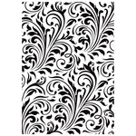 Kaisercraft - Christmas Edition Collection - Embossing Folder - Flourish