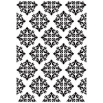 Kaisercraft - 4 x 6 Embossing Folder - Diamond Damask
