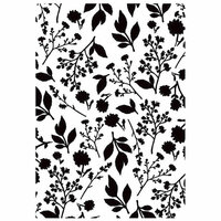 Kaisercraft - 4 x 6 Embossing Folder - Bloom