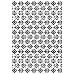 Kaisercraft - 4 x 6 Embossing Folder - Daisies