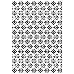Kaisercraft - 4 x 6 Embossing Folder - Daisies