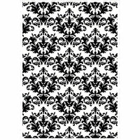 Kaisercraft - 4 x 6 Embossing Folder - Royal Damask