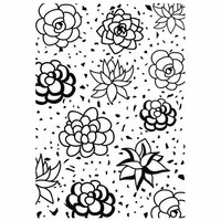 Kaisercraft - 4 x 6 Embossing Folder - Succulents