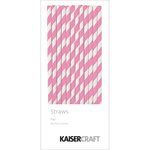 Kaisercraft - Pop Collection - Straws - Fairy Floss