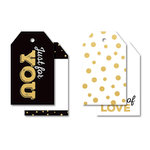 Kaisercraft - A Touch of Gold Collection - Tags
