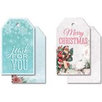 Kaisercraft - Silver Bells Collection - Christmas - Tags