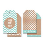 Kaisercraft - Tags - Just for You - Blue