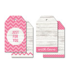 Kaisercraft - Tags - Just for You - Pink