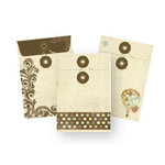 Kaisercraft - Up, Up and Away Collection - Envelopes, CLEARANCE
