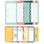 Kaisercraft - Seaside Collection - Printed Tickets