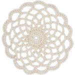 Kaisercraft - Crochet Doilies - Cream Lace