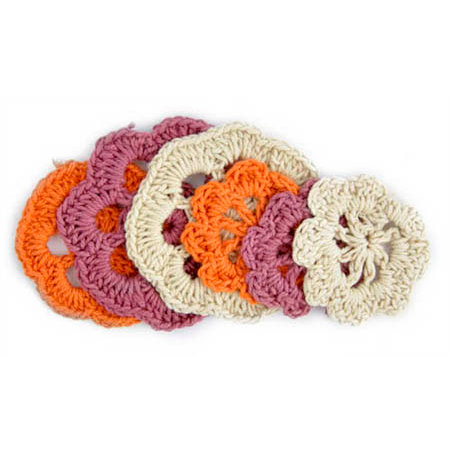 Kaisercraft - Mini Crochet Doilies - Retro