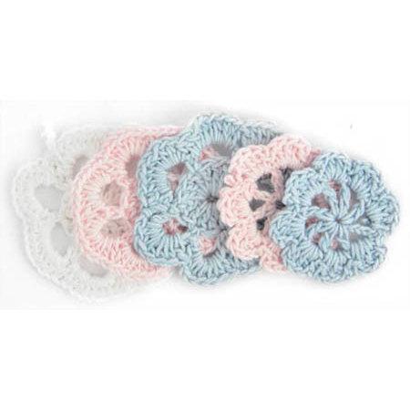 Kaisercraft - Mini Crochet Doilies - Nursery