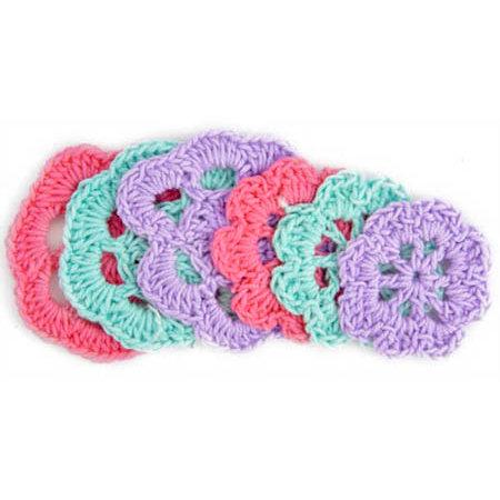 Kaisercraft - Mini Crochet Doilies - Spring