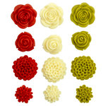 Kaisercraft - Blossoms - Resin Flowers - Pansy