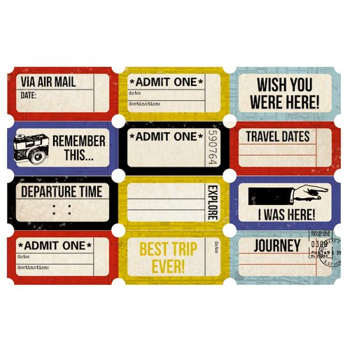 Kaisercraft - Check-in Collection - Printed Tickets