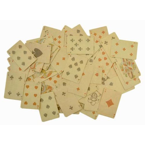 Kaisercraft - Sears and Son Collection - Die Cut Cardstock Pieces - Playing Cards