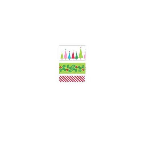 Kaisercraft - Mint Twist Collection - Christmas - Printed Ribbon