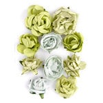 Kaisercraft - Paper Blooms - Flowers - Olive