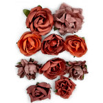 Kaisercraft - Paper Blooms - Flowers - Ruby