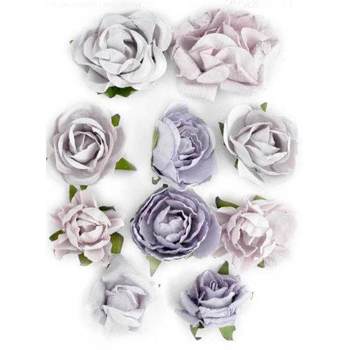 Kaisercraft - Paper Blooms - Flowers - Misty