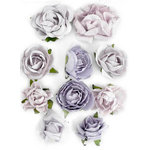 Kaisercraft - Paper Blooms - Flowers - Misty