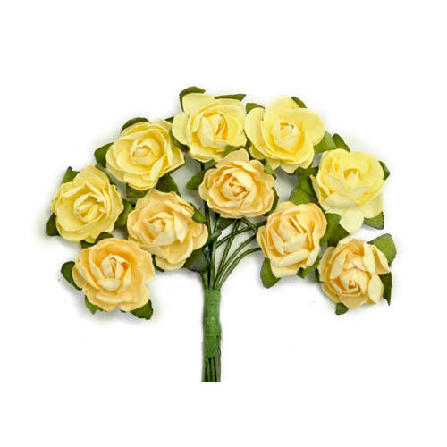 Kaisercraft - Paper Blooms - Mini - Flowers - Buttercream