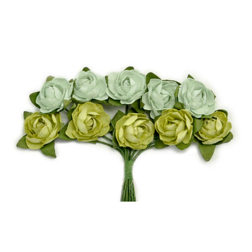 Kaisercraft - Paper Blooms - Mini - Flowers - Olive